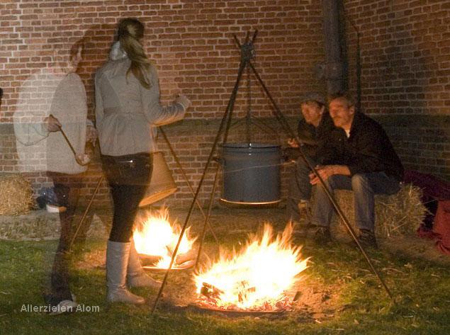 welke elementen zijn nodig om vuur te maken
